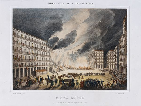 Incendio de la Plaza Mayor