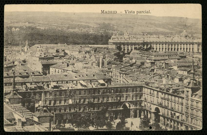 Madrid, vista parcial