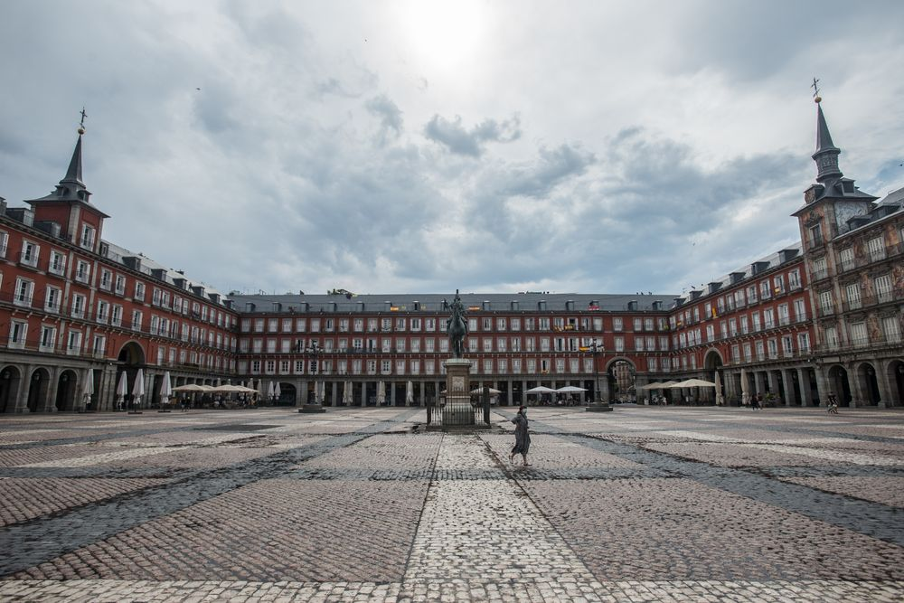 Plaza Mayor Solitaria